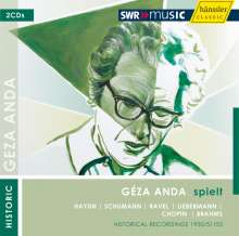 Geza Anda spielt, 2 CDs
