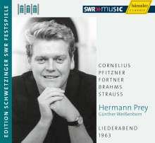 Hermann Prey - Liederabend 1963 (Schwetzinger Festspiele), CD