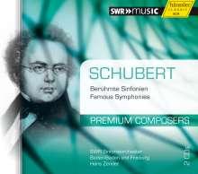 Franz Schubert (1797-1828): Symphonien Nr.4,6,7,8, 2 CDs