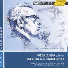 Geza Anda plays Bartok & Tschaikowsky, CD