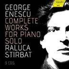 George Enescu (1881-1955): Sämtliche Werke für Klavier solo, 3 CDs