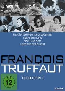 Francois Truffaut Collection 1, 4 DVDs