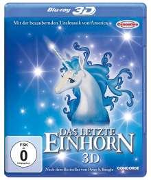 Das letzte Einhorn (3D Blu-ray), Blu-ray Disc