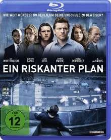 Ein riskanter Plan (Blu-ray), Blu-ray Disc