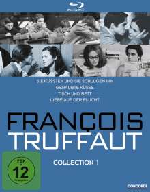 Francois Truffaut Collection 1 (Blu-ray), 4 Blu-ray Discs