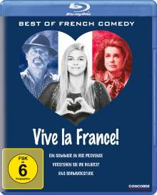 Vive La France! Best of French Comedy (Blu-ray), 3 Blu-ray Discs