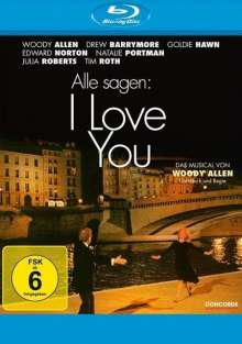 Alle sagen: I Love You (Blu-ray), Blu-ray Disc