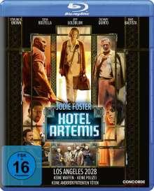 Hotel Artemis (Blu-ray), Blu-ray Disc