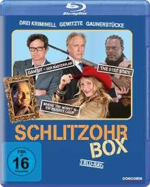 Schlitzohr-Box (3 Filme) (Blu-ray), 3 Blu-ray Discs