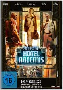 Hotel Artemis, DVD