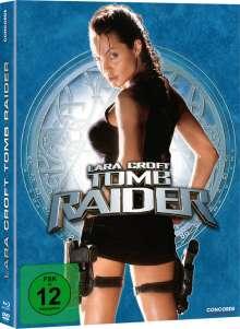 Tomb Raider 1 - Lara Croft (Blu-ray & DVD im Mediabook), 1 Blu-ray Disc und 1 DVD