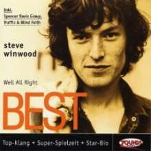 Steve Winwood: Well, All Right: Best, CD