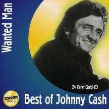 Johnny Cash: Wanted Man: Best Of Johnny Cash (24 Karat Gold-CD), CD