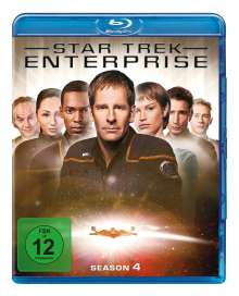Star Trek Enterprise Season 4 (Blu-ray), 6 Blu-ray Discs