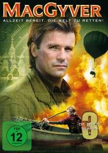 MacGyver Season 3, 5 DVDs