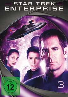 Star Trek Enterprise Season 3, 7 DVDs