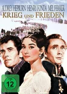 Krieg und Frieden (1956), DVD