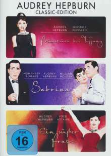 Audrey Hepburn Classic Edition, 3 DVDs