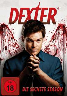 Dexter Season 6, 4 DVDs