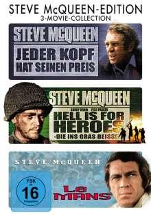 Steve McQueen Edition, 3 DVDs