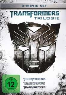 Transformers Trilogie, 3 DVDs