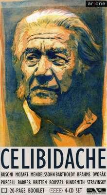 Sergiu Celibidache dirigiert, 4 CDs