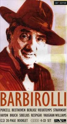 John Barbirolli dirigiert, 4 CDs