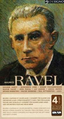 Maurice Ravel (1875-1937): Bolero, 4 CDs