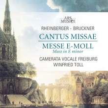 """Josef Rheinberger (1839-1901): Messe Es-Dur op.109 """"Cantus Missae"""", CD"""
