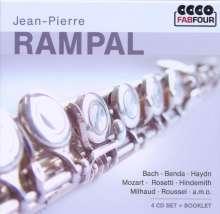 Jean-Pierre Rampal, 4 CDs