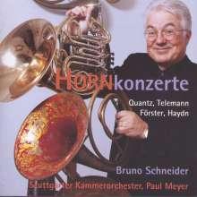 Bruno Schneider - Hornkonzerte, CD