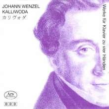 Johann Baptist Wenzel Kalliwoda (1801-1866): Werke für Klavier 4-händig, CD