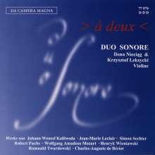 Duo Sonare - A Deux, CD