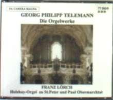 Georg Philipp Telemann (1681-1767): Sämtliche Orgelwerke, 3 CDs
