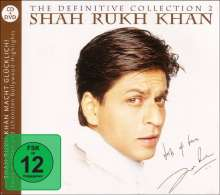 Shah Rukh Khan: Filmmusik: The Definitive Collection Vol. 2, 1 CD und 1 DVD