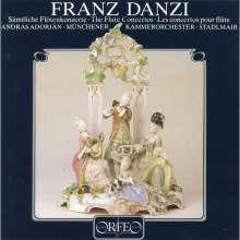 Franz Danzi (1763-1826): Flötenkonzerte Nr.1-4, CD