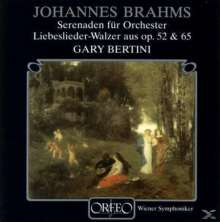 Johannes Brahms (1833-1897): Serenaden Nr.1 & 2 (120 g), 2 LPs