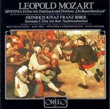 Leopold Mozart (1719-1787): Sinfonia D-dur mit Dudelsack & Drehleier (120 g), LP