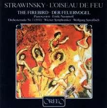 Igor Strawinsky (1882-1971): Der Feuervogel (Fassung für Klaviere/120 g), LP
