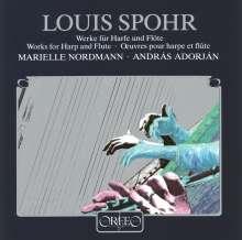 Louis Spohr (1784-1859): Werke f.Flöte & Harfe, CD