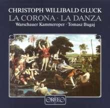 Christoph Willibald Gluck (1714-1787): La Corona (120 g), 2 LPs