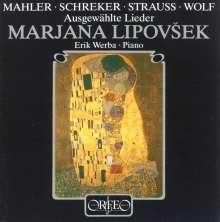 Marjana Lipovsek singt Lieder (120 g), LP