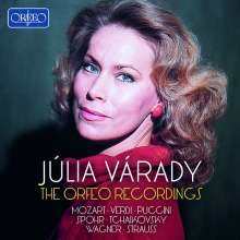 Julia Varady - The Orfeo Recordings, 10 CDs