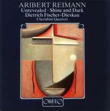 Aribert Reimann (geb. 1936): Unrevealed f.Bariton & Streichquartett, CD