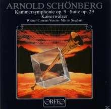 Arnold Schönberg (1874-1951): Suite op.29 (120 g), LP