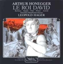 Arthur Honegger (1892-1955): Le Roi David (120 g), LP
