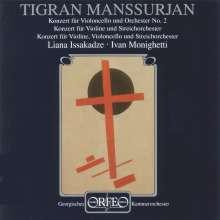 Tigran Mansurian (geb. 1939): Violinkonzert, CD