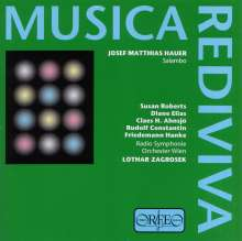 Josef Matthias Hauer (1883-1959): Salambo (Oper in 7 Bildern), CD