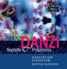 Franz Danzi (1763-1826): Septette op.10 & op.15, CD