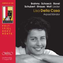 Lisa della Casa singt Lieder, CD